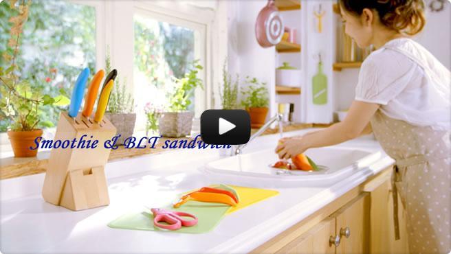 Ceramic Knives Advantages Ceramic Kitchen Knives And